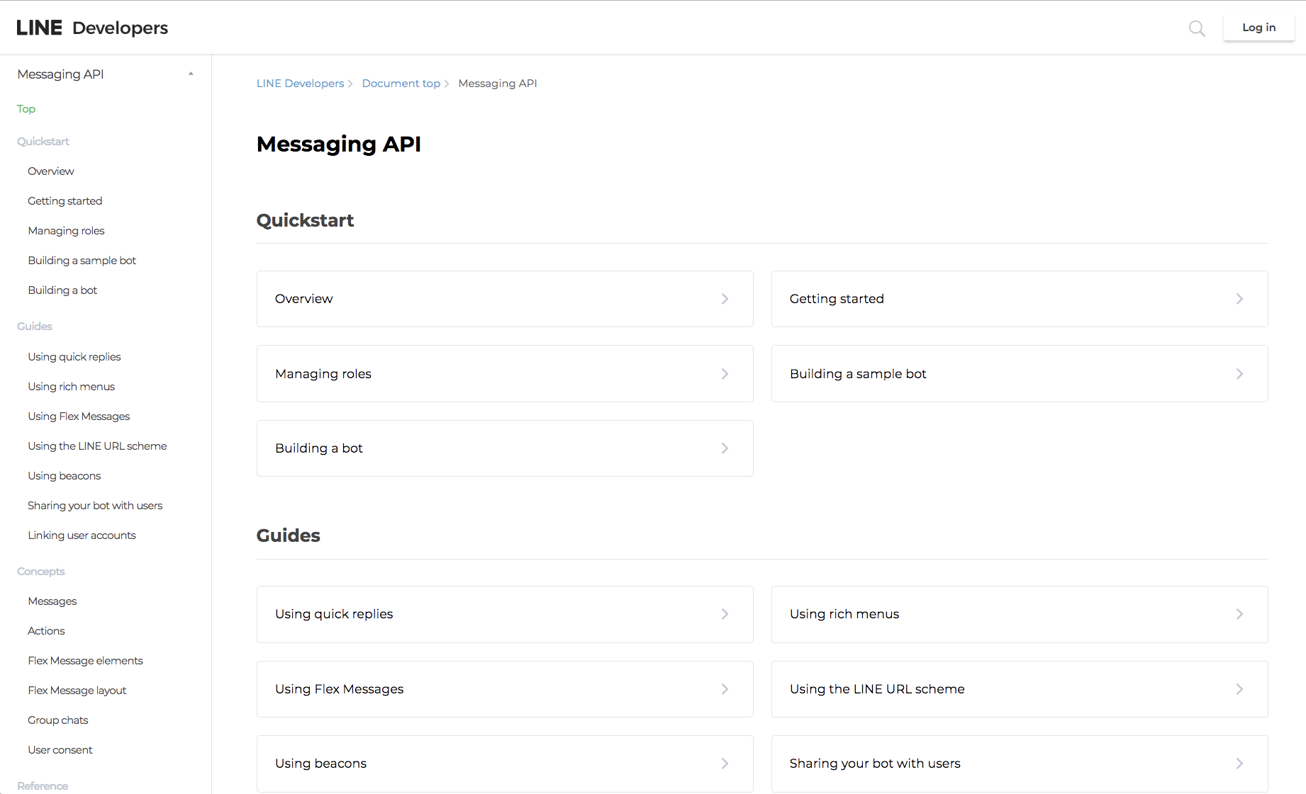 LINE Messaging API guide