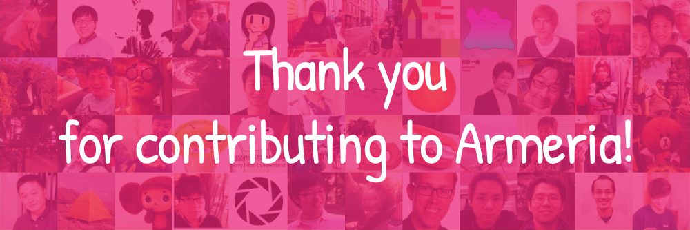 QnA VBage Thank you for contributing to Armeria!